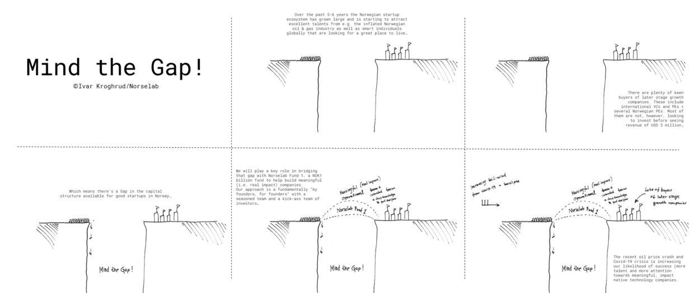 Mind the Gap Comic Ivar Kroghrud