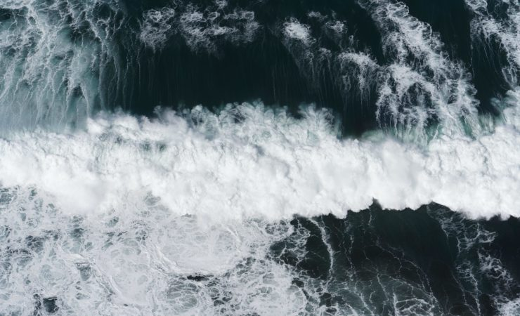 Waves seen from above